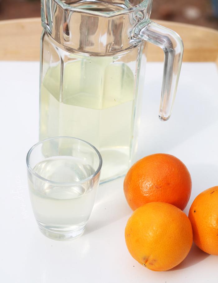 Domácí pomerančová limonáda s anýzem
