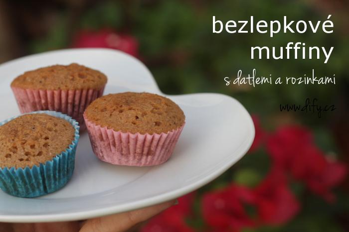 Zdravější verze muffinů bez lepku