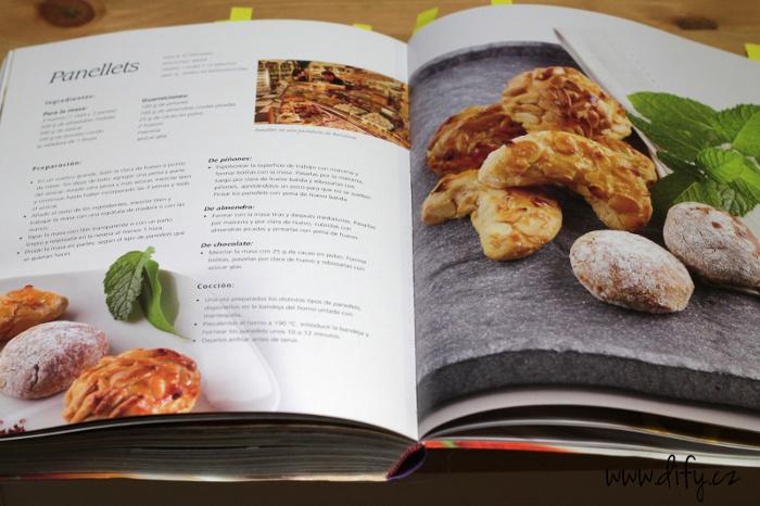 Katalánská kuchařka a recept na panellets