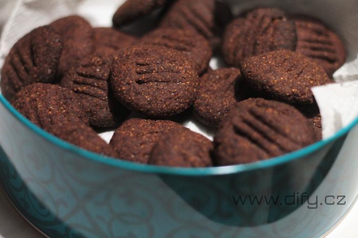 Banánové sušenky s kakaem a kokosem, dokonalá malá svačinka