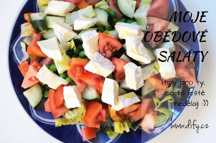 Tipy jak připravit jednoduchý obědový salát