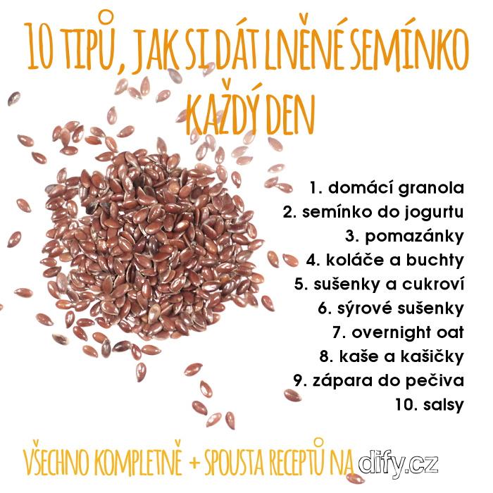 10 tipů, jak použít lněné semínko při vaření i pečení každý den