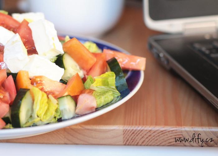 Nejlepší oběd do práce je salát
