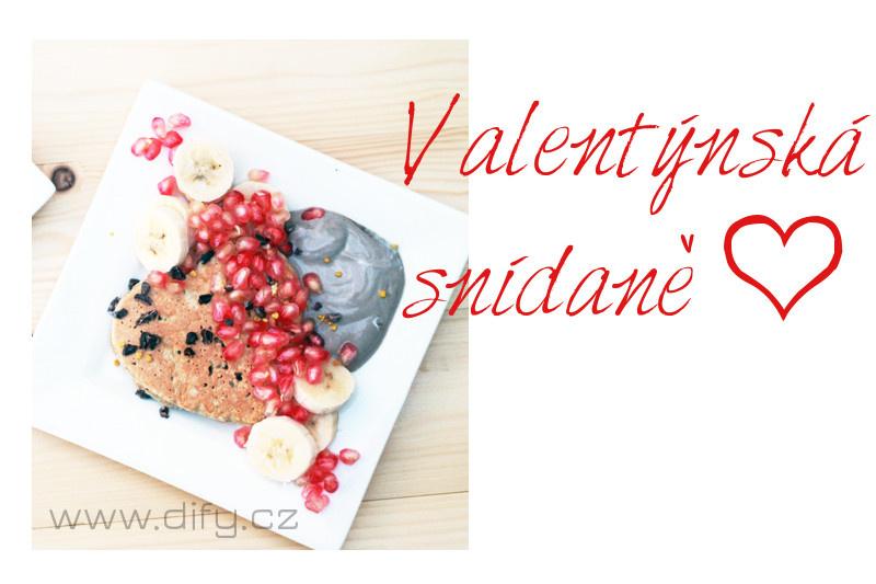 Tipy na valentýnskou snídani