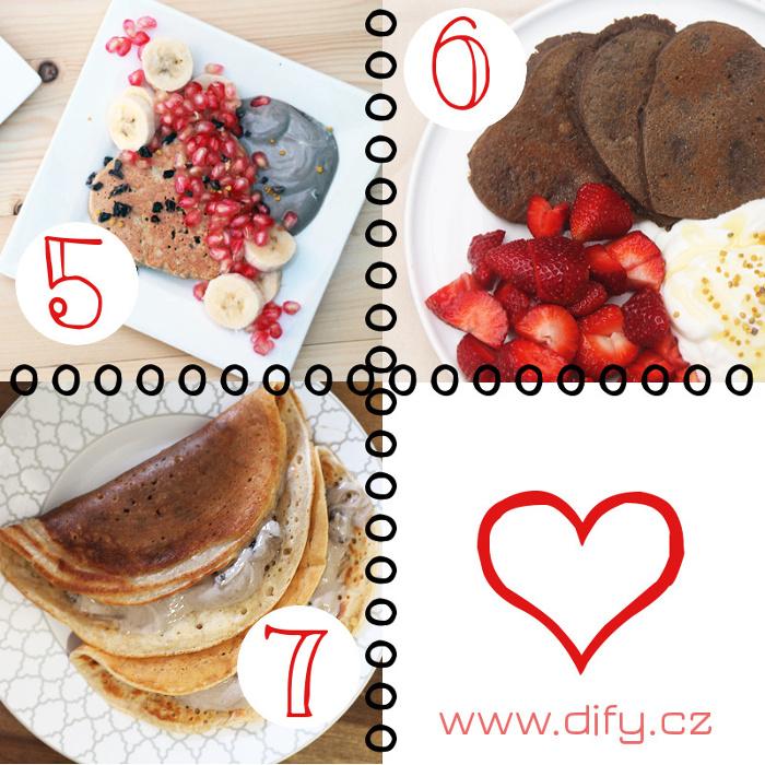 Romantická snídaně 2 - recepty