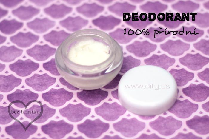 Recept na přírodní deodorant bez hliníku