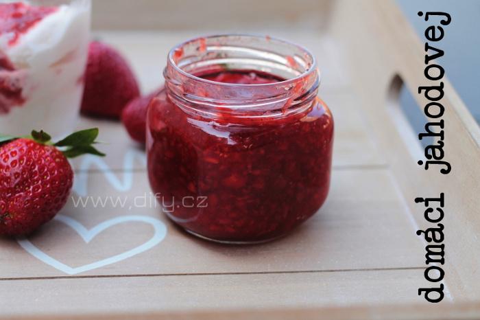 Jednoduchý džem z jahod - jak udělat