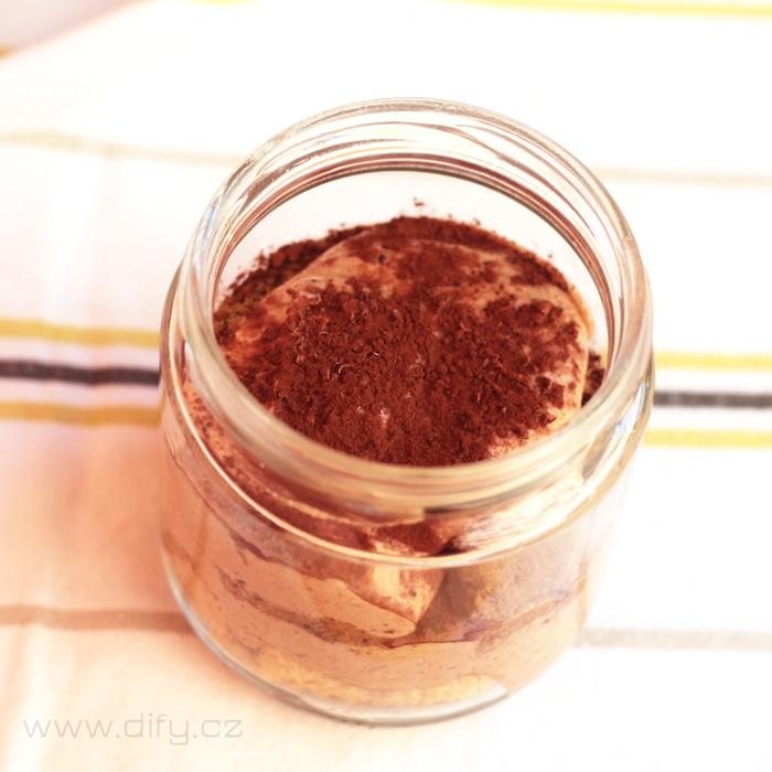 Domácí čokoládové tiramisù - recept