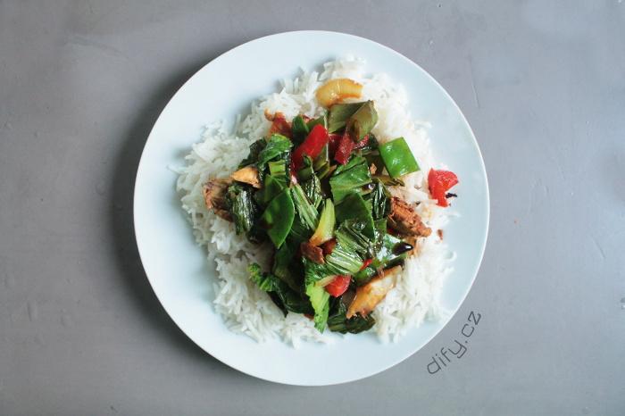 Čínské ingredience v kuchyni