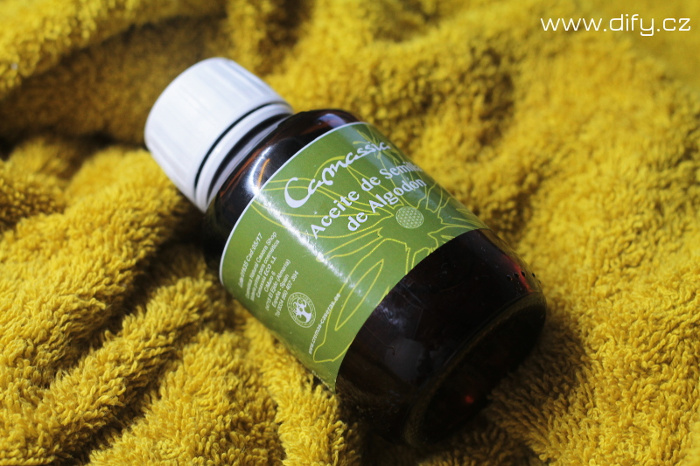 Bavlníkový olej - péče o pleť, diy kosmetika