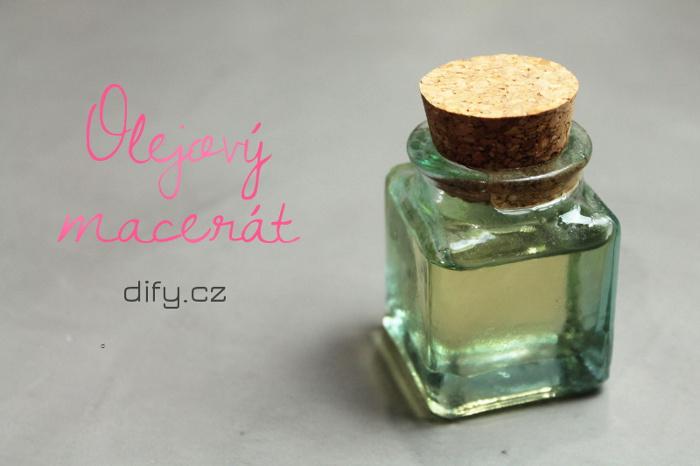Jednoduchý recept na olejový macerát
