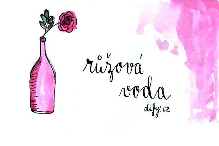 Růžová voda v přírodní kosmetice