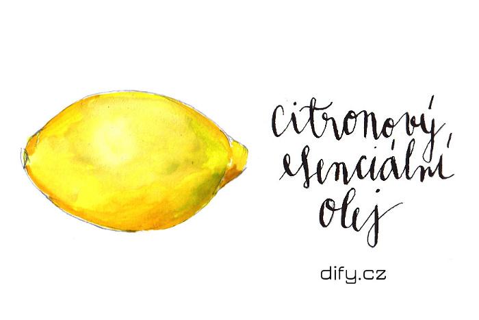 Použití citronového esenciálního oleje pro zdraví a v kosmetice