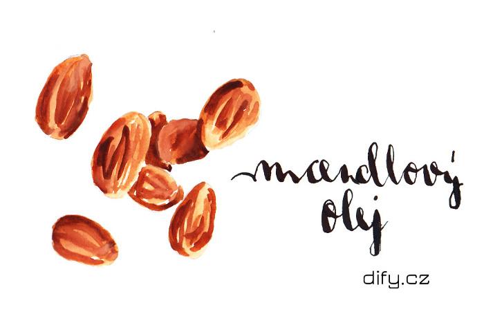 Mandlový olej v přírodní a DIY kosmetice