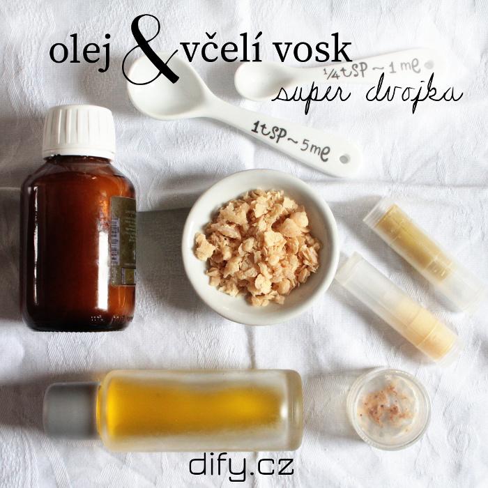 Oleje a vosky v kosmetice