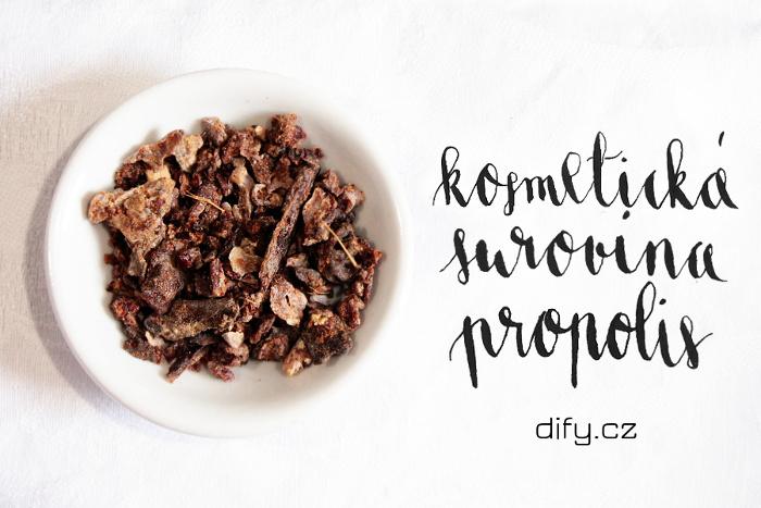 Propolis a jeho využití při výrobě domácí kosmetiky