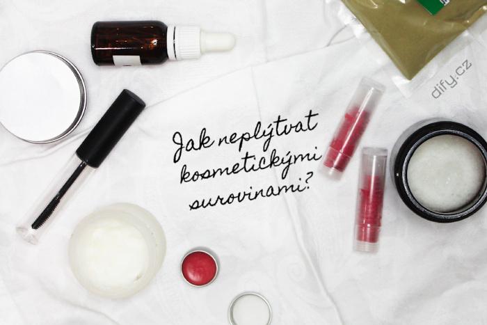 Tipy, jak šetřit kosmetické suroviny a neplýtvat jimi