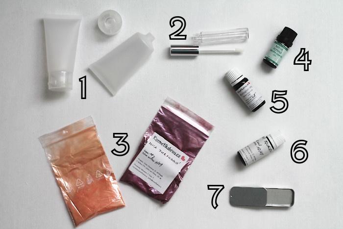 Nákup ingrediencí na výrobu DIY kosmetiky