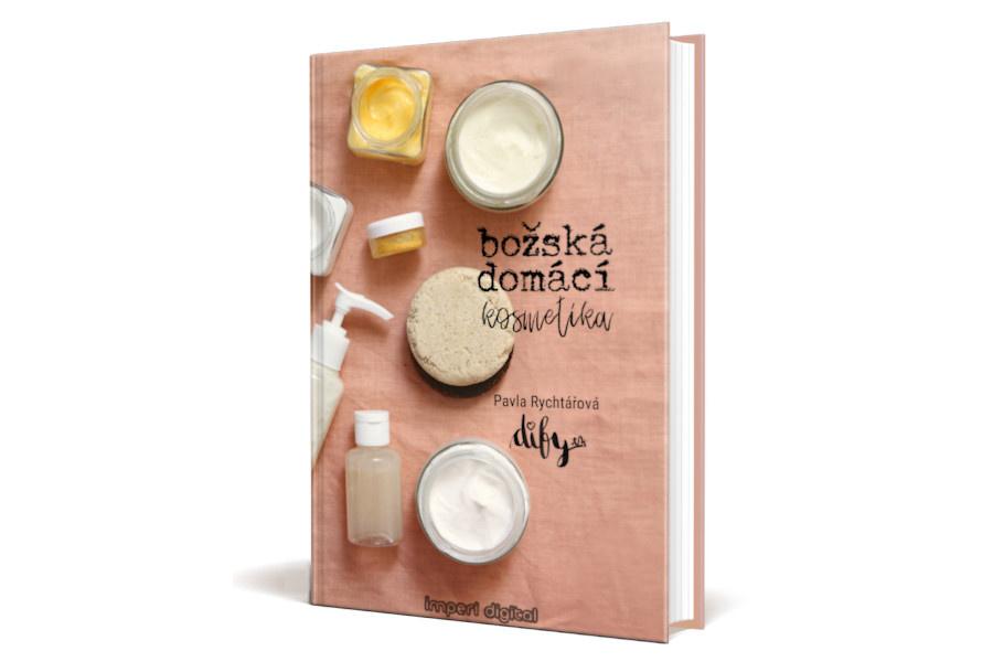 Elektronická kniha s recepty na domácí kosmetiku