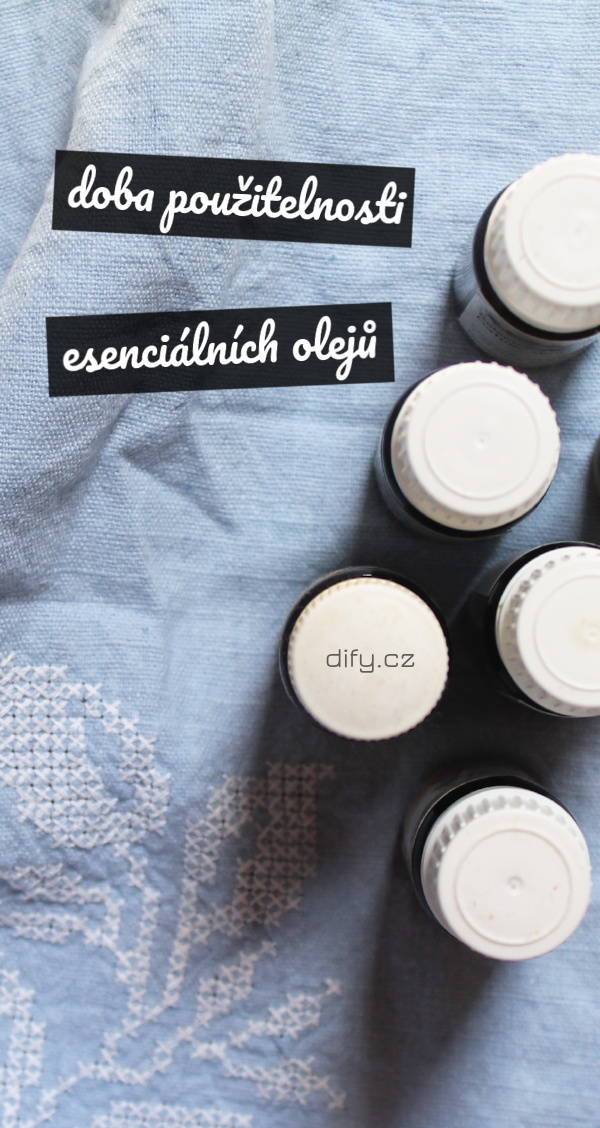 Doba použitelnosti u esenciálních olejů (DIY kosmetika)
