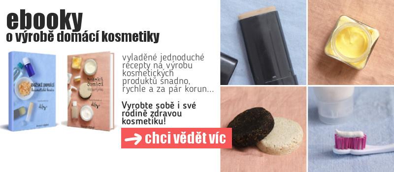Elektronická knížka o výrobě domácí kosmetiky