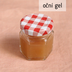 recept na výrobu domáchí gelu na oční okolí