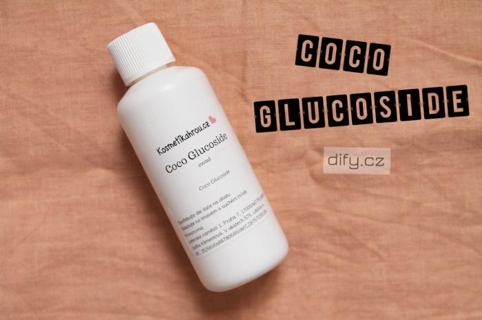 Použití coco glucosidu v diy kosmetice k výrobě šamponů a mycích přípravků