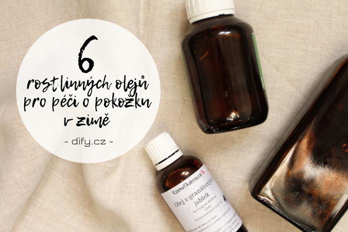 Jaké rostliné oleje použít pro péči o pokožku v zimě?