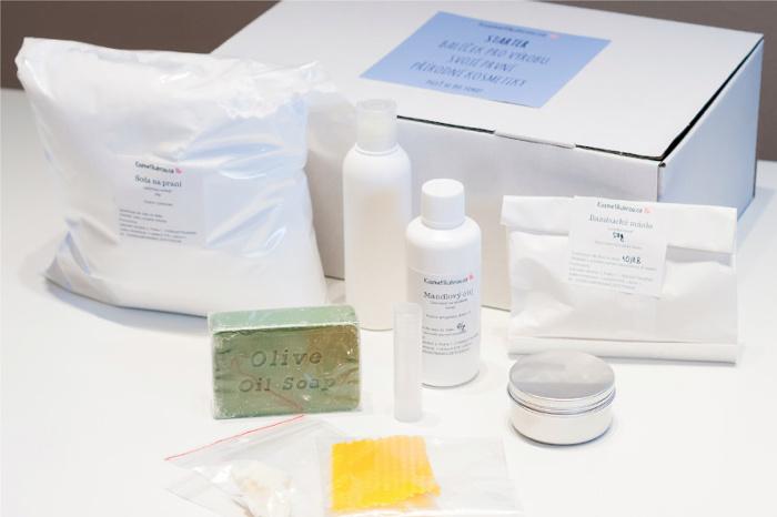 Balíček se surovinami na výrobu kosmetiky a drogerie