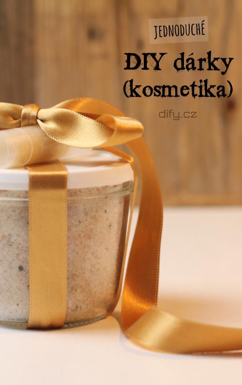 4 Tipy na jednoduché diy kosmetické dárky (nejen k Vánocům)