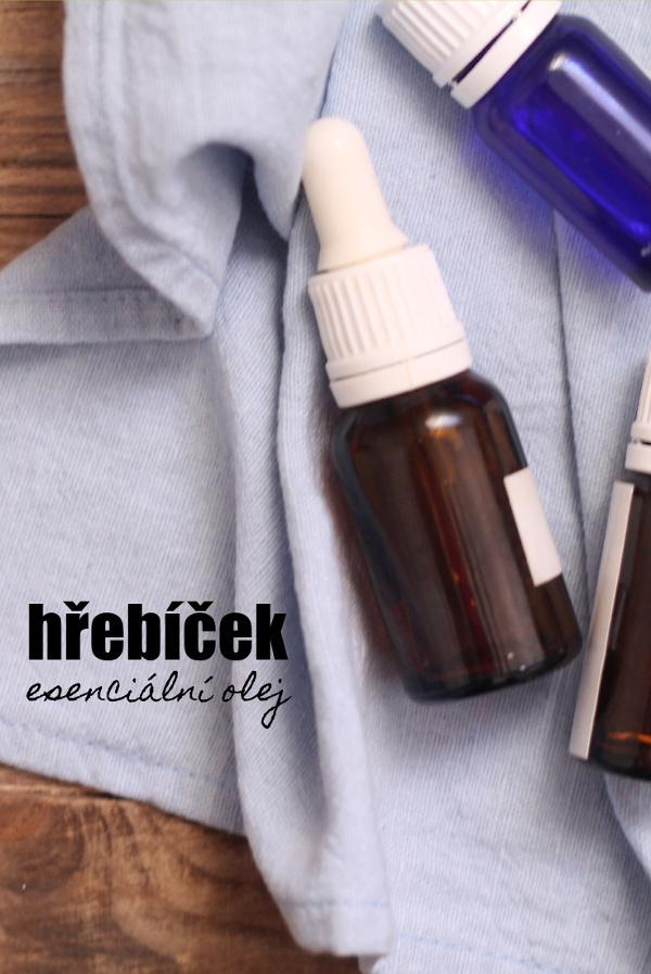 Hřebíčkový esenciální olej a jeho použití nejen v kosmetice