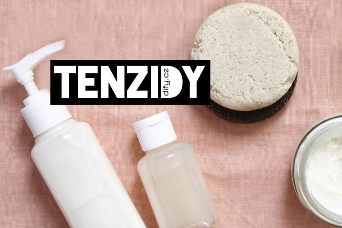 Tenzidy pro použití v domácí přírodní kosmetice