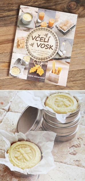 Recenze knihy Včelí vosk - spousta nápadů, receptů, návodů, jak využít včelí vosk
