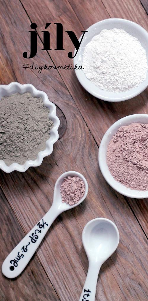 Jíl jako kosmetická surovina a jeho využití při výrobě diy kosmetiky