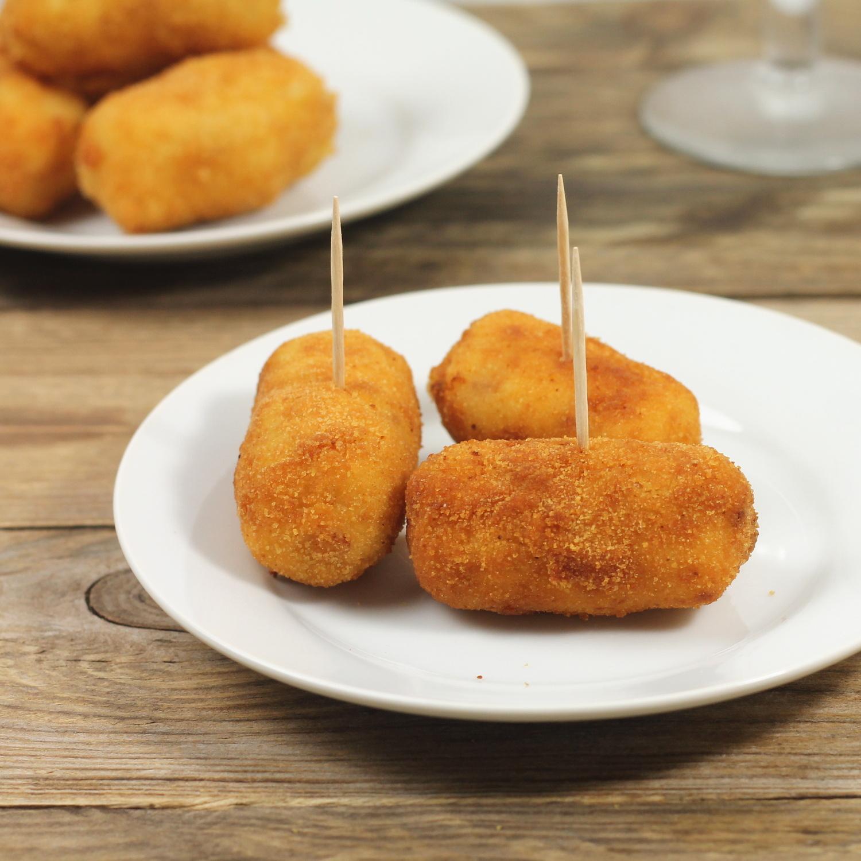recept na pravé španělské krokety z bešamelu
