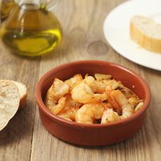 španělský recept na krevety na česneku - gambas al ajillo