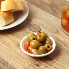 španělský recept na ochucené olivy