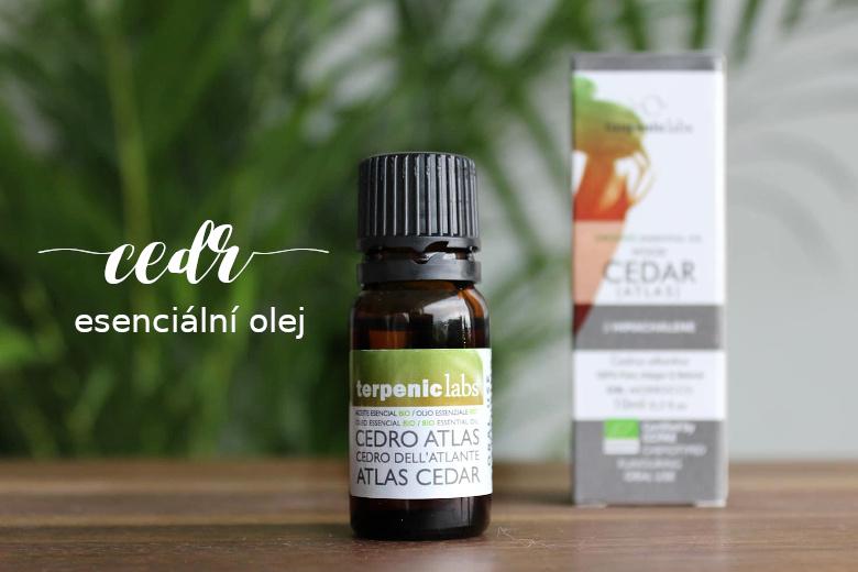 Esenciální olej cedrové dřevo - jeho účinky a použití nejen v kosmetice