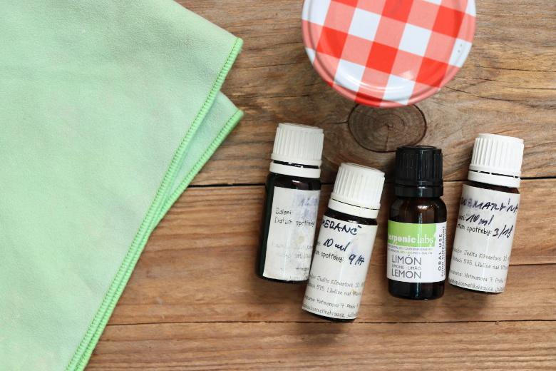 Jaké éterické oleje můžeme použít při úklidu?