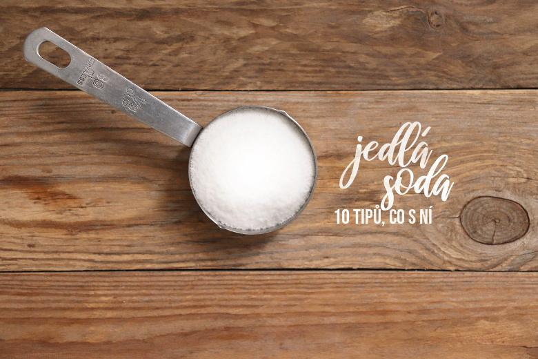 Použití jedlé sody v domácnosti i při výrobě kosmetiky