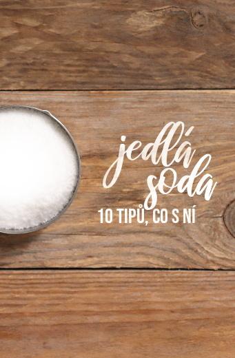 Použití jedlé sody v domácnosti i při výrobě kosmetiky - 10 eko tipů