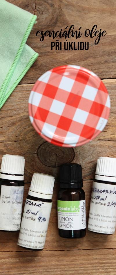 Esenciální oleje - jak je užijeme při úklidu a které se nám budou hodit?