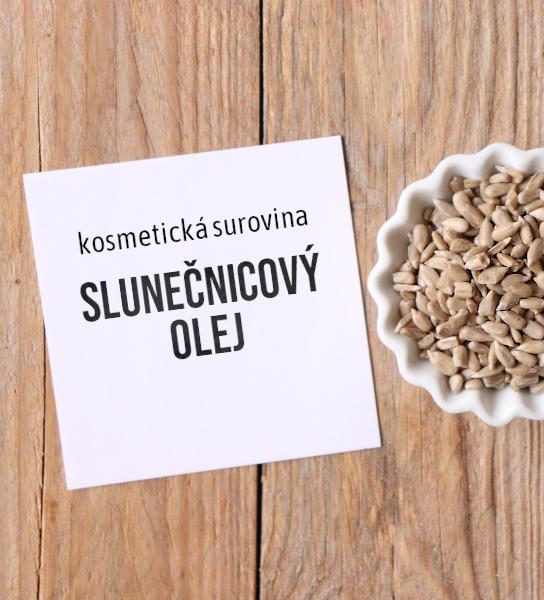 lunečnicový olej jako kosmetická surovina aneb proč ho používat víc než jen do macerátů (diy kosmetika)